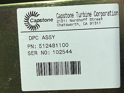 New Capstone Microturbine Dpc Digital Power Control For C30 512481-100 51248100