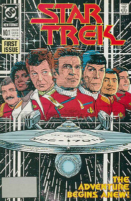 Classic Star Trek Comic Book Series 2 #1, DC Comics 1989 NEAR MINT NEW UNREAD