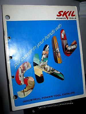 Vintage Skil Industrial Power Tools Catalog 1968 Canada - Good - Clean -82 Pages