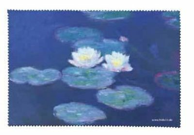Monet: Water Lilies - Glasses Cleaning Cloth Microfibre