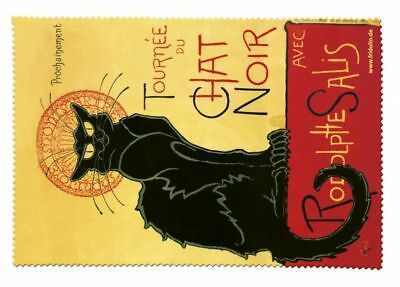 Chat noir - Glasses cleaning cloth Microfibre