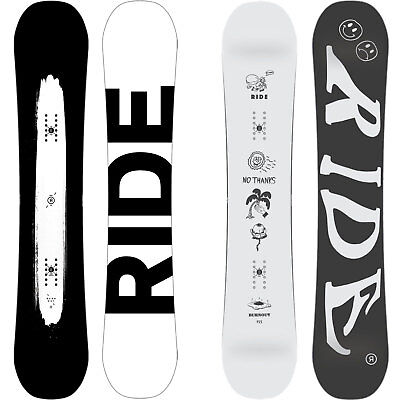 Ride Burn Out Burnout Men's Snowboard All Mountain Freestyle 2016-2018 NEW