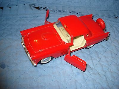 Majorette Die Cast 1956 Thunder Bird Car With Continental Tire Kit.