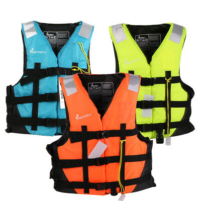 Safety Life Jacket Child Adult Sports Swimming Floating Aid Vest Buoyancy Vest