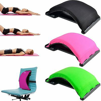 Back Magic Support Stretcher Posture Corrector Lower Lumbar Therapy Cushion