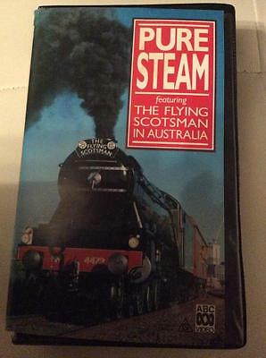 Pure Steam  The Flying Scotsman In Australia Video Pal Vhs Clamshel A Rare Find