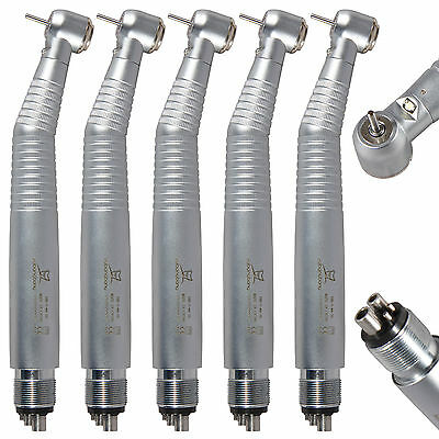 5*KAVO Style Dental E-generator LED Fiber Optic torque Head Handpiece 4H Turbina