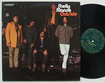 Shelly Manne Outside Rare Us Contemporary Lp 1970 Vg++/mint-