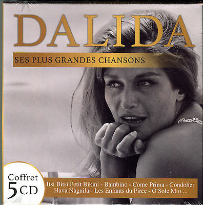 Dalida - Ses Plus Grandes Chansons - Best Of 5 Cd Neuf New Sealed