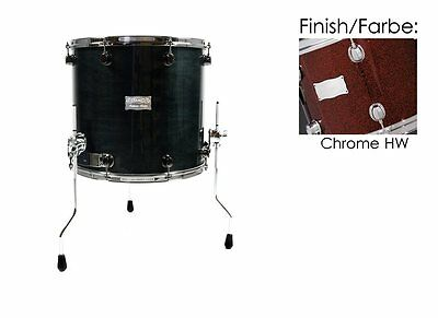 "Mapex Saturn 18""x16"" Floortom Black Cherry Sparkle (Chrome Hw) 65% Reduziert!!!"