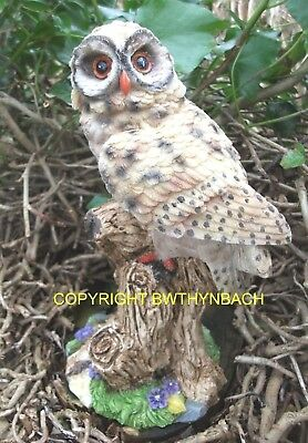 New Design Rubber Latex Mould Moulds Mold To Make Garden Ornament Owl On  Branch