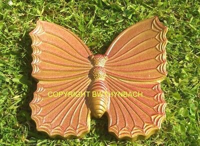 New Design Rubber Latex Mould Moulds Mold Garden Butterfly Wall Plaque Hanging