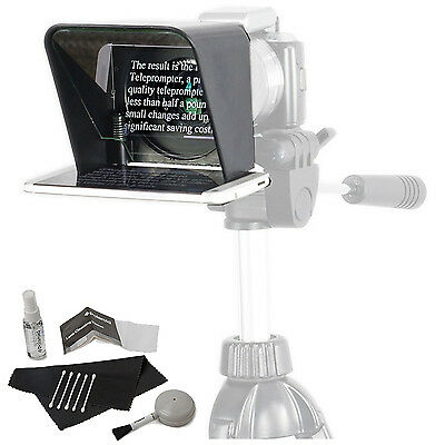 Parrot Teleprompter Ver.2 Portable Teleprompter for Smartphone + cleaningKit