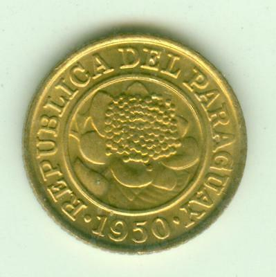 Paraguay Uncirculated 1950 Centimo-Lot Z1
