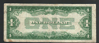 $1 1934 FUNNYBACK SILVER Certificate Old Blue Seal Bill Antique USA Paper Money
