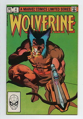 Wolverine Comic Book #4 Marvel Vintage 1982 Very Fine Limited Series