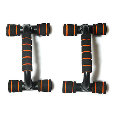 Push Up Home Fitness Pectoral Muscle Workout Training Push-Up Bars Stands Handle