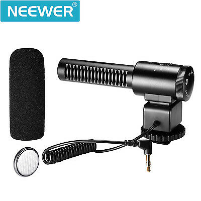 Neewer 3.5mm Recording Interview Microphone Professional Stereo