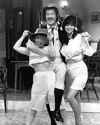 "Vicki Michelle and Sue Hodge / Gordon Kaye Allo Allo 10"" x 8"" Photograph no 33"
