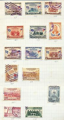 HONDURAS Air Officials OLD/Mid Mint &Used Collection (Approx 150+Items)Au131