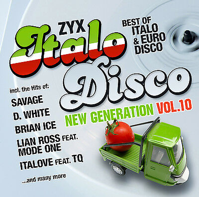 CD ZYX ITALO DISCO New Generation vol.10 by Various Artists 2CDs