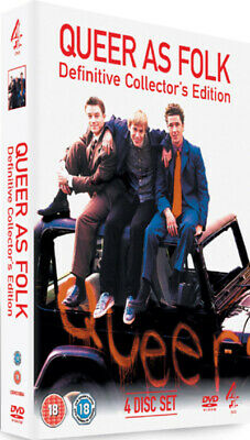Queer As Folk: Definitive Edition DVD (2006) Aidan Gillen, McDougall (DIR) cert