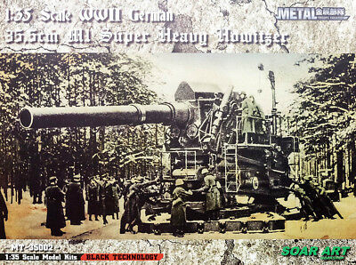 35,5 cm Haubitze M1 German Super Heavy Howitzer 1:35 Model Kit Soar Art MT-35002