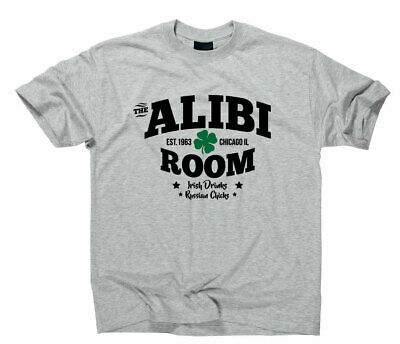 The Alibi Room Bar Frank Gallagher Fan Logo T-Shirt TV Serie Shameless Fanshirt