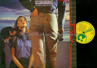 Lp-- Scorpions Animal Magnetism // 1575441 Eec