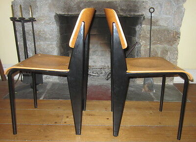 JEAN PROUVE STANDARD CHAIR Set of 2 Chairs