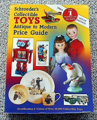Schroeder's Collectible Toys Antique To Modern Price Guide  2004 9Th Edition