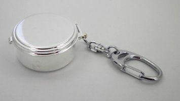 Silver Plat ed Pocket Ashtray Free Engraving