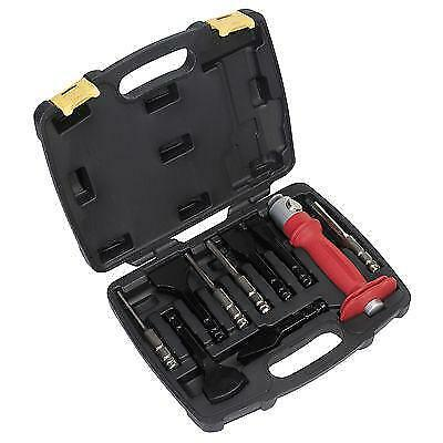 Sealey 10pc Interchangeable Punch and Chisel Kit AK9120