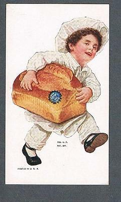 Original 1890's Butter Nut Bread Advertising Trade Card