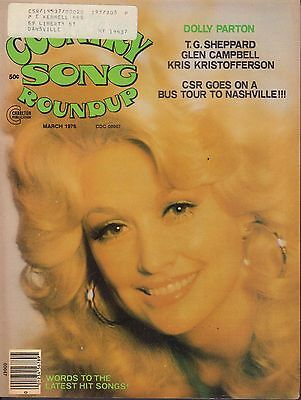 Country Song Roundup March 1976 Dolly Parton w/ML 030717nonDBE2