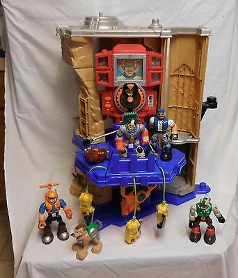 Rescue Heroes Mission Select Mountain Action Command Center + Rescue Bots +
