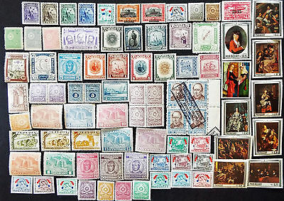 Mint Stamps From Paraguay