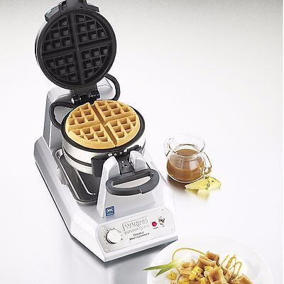 NEW Waring WW200 Commercial Double Belgian Waffle Maker 120V