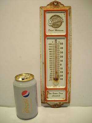 Vtg / Antique PACIFIC MOLASSES SWEETLIX DRIED MOLASSES Advertising THERMOMETER