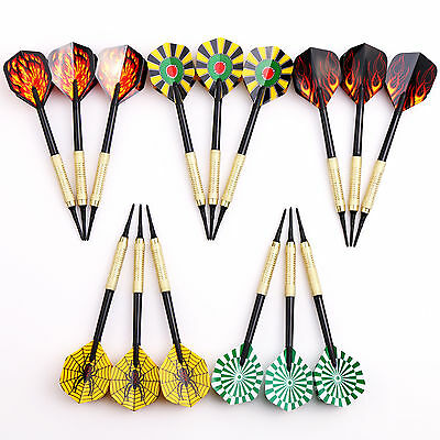5 sets(15 pcs) of Plastic Soft Tips Darts 10g for Electronic Dartboard Safety US