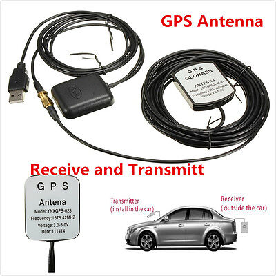 USB GPS Receiver For Car Laptop PC Navigation GPS Antenna Receive and Transmit