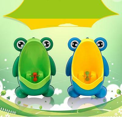 Frog Children Potty Toilet Training Kids Seat Urinal Boys Pee Trainer Bathroom