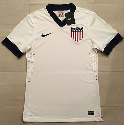 premium selection ca814 f13f3 AUTHENTIC NIKE 2013 USMNT Centennial Soccer Player Issue Jersey shirt USA M