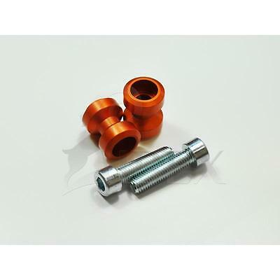 KTM 390 Duke BJ 2013 - 2017 Bobbins Racingadapter M10x1,25 orange