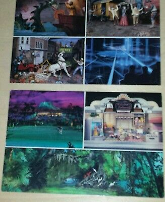 Lot of 2 Epcot Center Vintage post cards, 1980's