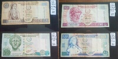 CYPRUS Banknotes. Choice of Notes