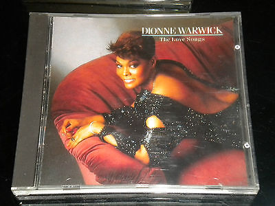 Dionne Warwick - The Love Songs - CD Album - 1989 - 16 Great Tracks