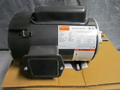 "General Purpose Continuous Motor 115V Frame 48 3/4HP 3450RPM 1/2"" Shaft NEW"