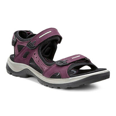 Ecco Off Road Yucatan Ladies Sandals Shoes morillo port black 069563-59277