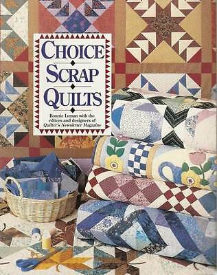 Lot Of 15 - Choice Scrap Quilts - Quilting Book